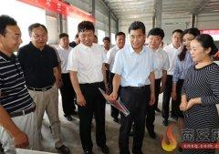 王战营在虞城县调研乡(镇)工作时强调牢牢把握以人民为中心的思想扎实做好乡(镇)各项工作