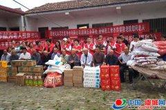 虞城县爱心小屋志愿者服务队开展中秋节慰问活动
