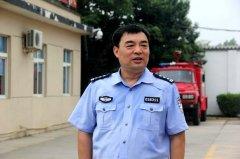 卫辉市公安局驻村工作队代表群众感谢慰问消防官兵