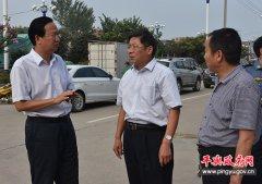 """平舆县委副书记、县长赵峰就""""双创""""工作现场办公"""