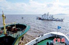 浙江舟山海域两船相撞 一船沉没3人下落不明