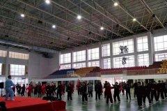河南省第二期老年人太极拳剑培训班今日开训