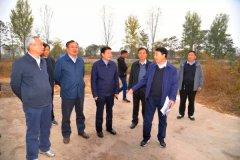 省委省政府第四环保督察组莅临宁陵督察污染防治工作