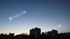 北京天晴寒意浓 今夜将有雪花飘落