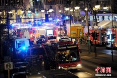 IS声称对柏林恐袭负责 德国全面加强圣诞期间安保