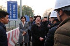 县长张颖波等调研城区黑臭水体项目治理推进情况