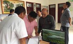 县卫计委督导验收114个贫困村卫生室内涵建设提升工程