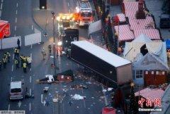 默克尔:柏林卡车冲撞事件为恐袭 袭击者或为难民