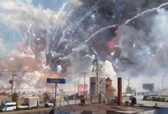 墨西哥烟花市场爆炸 已造成至少26死70伤