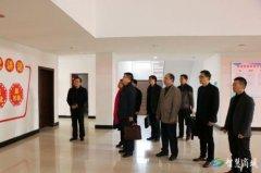 湖北省沙洋县委宣传部一行到我县考察融媒体中心建设