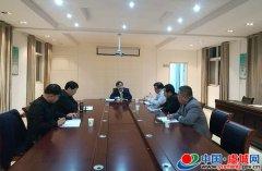 程惠建组织召开县脱贫攻坚中部战区第二次会议