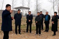 市政协调研组来我县调研土壤污染防治工作