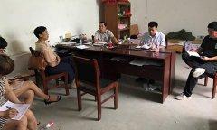 县总工会主席陈永军看望驻村工作队员