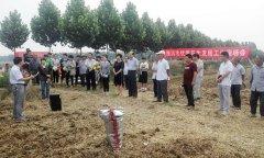 县农技总站组织召开漯河市优质花生发展工作现场会