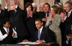 奥巴马劝特朗普莫过于依赖行政命令