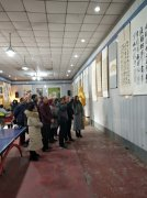 县文广新局举办迎新年庆元旦书画作品展