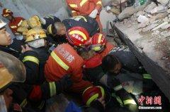 湖北南漳山体崩塌被困人员名单初步核定 已致2死