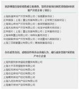 上海8家房地产企业、7家房地产中介企业被依法查处!