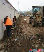 县城管局给力我县省级卫生城复审验收和百城建设提质工程