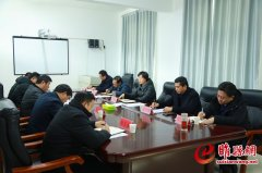 吴海燕到县环保局调研指导工作