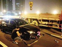 郑州夜查飙车 查到一律从严顶格处理