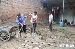 【全力以赴打好脱贫攻坚战】京城路街道扶贫援建工程开工建设