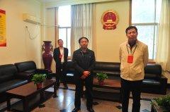 区人大主任许广佑一行到 马寨镇视察代表活动阵地建设工作