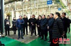 副省长刘伟莅睢调研产业集聚区发展情况