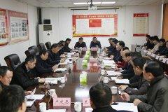 市长刘尚进在临颍县召开民营企业座谈会