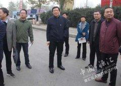 市委常委、常务副市长高喜东到我区综合检查站调研指导工作