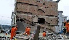 浙江温州五层民房倒塌 初步确认6人被困