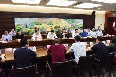 市长刘尚进主持召开第十七届中国(漯河)食品博览会采购商代表座谈会
