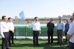 市长刘尚进到城建重点项目工地现场办公并主持召开市政府第72次城建交通工程周例会