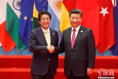 日媒:安倍急求与中国领导人见面 缓和东海局势