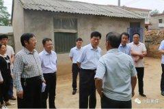 县委书记宁伯伟深入十里铺镇调研分散供养五保户家庭环境整治及饮水安全