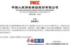人保集团:王银成已辞去副董事长、总裁职务