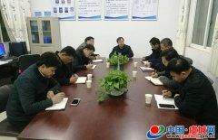 程惠建组织召开县脱贫攻坚中部战区会议
