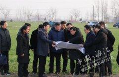 王继周调研道路和水系规划建设情况