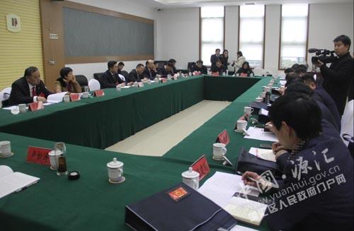 区长王凯杰参加十五届人大三次会议大刘镇老街代表团分组讨论