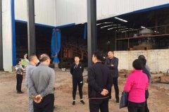 郾城区常务副区长卢丽琴带队调研污染防治工作