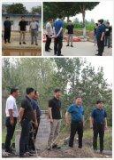 开发区工委书记王军调研夏季防汛和 污染防治工作