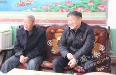 王继周慰问县级退休干部和贫困户