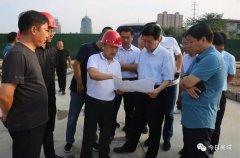 县委书记宁伯伟调研我县部分城建项目