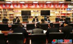 县政协十届委员会二次会议举行分组讨论会