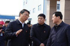市政府第33次服务企业周例会在漯西产业集聚区召开