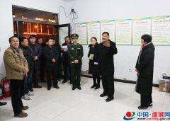 顾连福夜间督导春节前安全生产和食品安全工作