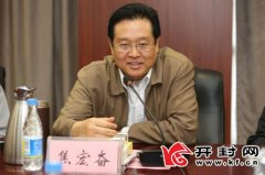 访中国电影集团公司党委书记、董事长焦宏奋为精准扶贫构建精神支撑