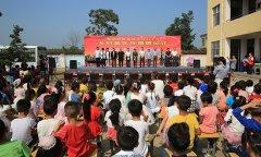 """省文化志愿服务活动基地―""""乡村音乐厅""""在侯集镇余庄小学启动"""