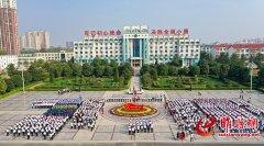 睢县举行庆祝中华人民共和国成立70周年升国旗仪式