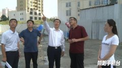 市长王效光实地督导察看大气污染防治工作开展情况